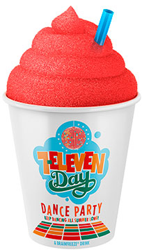 ht 7E day slurpee cup lpl 130711 vblog 7 Elevens Free Slurpee Day Goes Bigger Than Ever