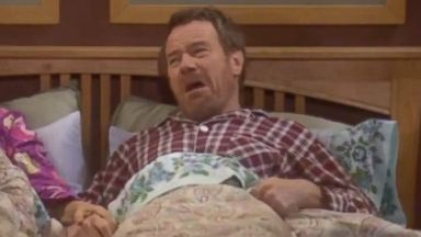 "PHOTO: An alternate ending of ""Breaking Bad"" shows Brian Cranston as Hal from ""Malcolm in the Middle."""