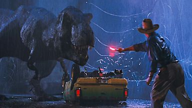 PHOTO: Scene from Jurassic Park in 3D