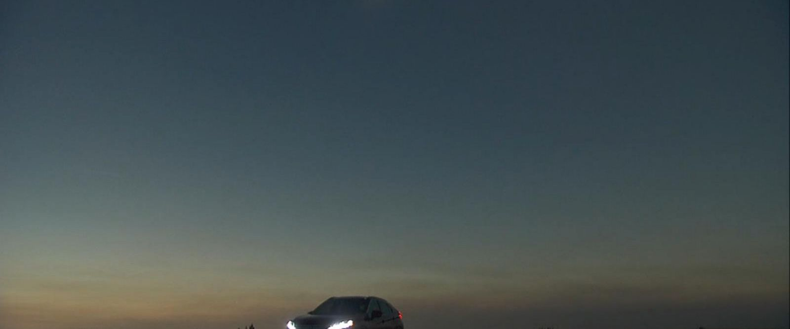 VIDEO: Behind the scenes look: Mitsubishi films Eclipse commercial during solar eclipse