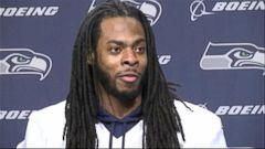 VIDEO: The Seahawks cornerback discusses his postgame confrontation with the quarterback in 2012.