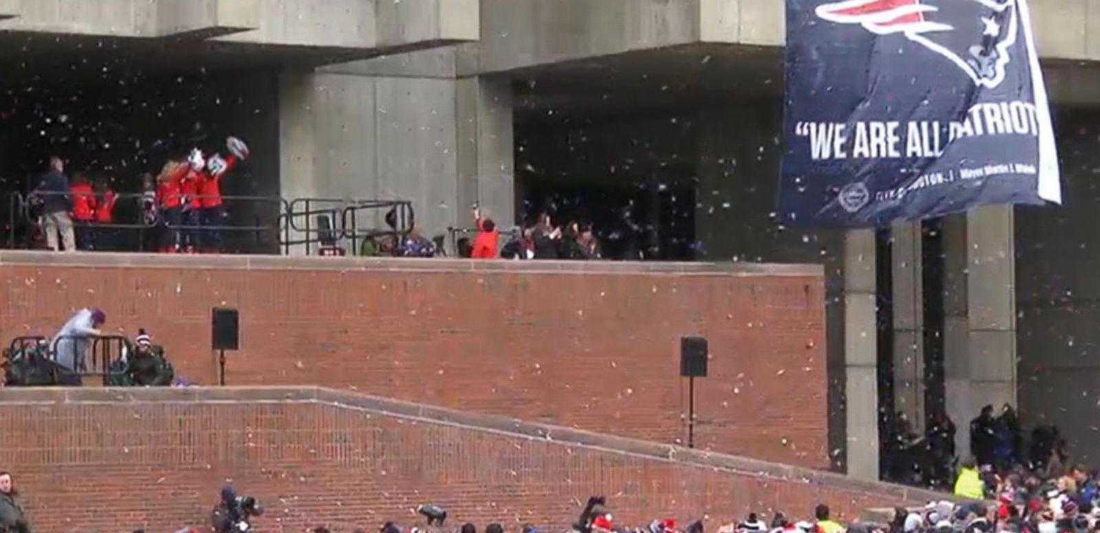 VIDEO: Boston Rallies Around the New England Patriots