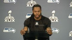 VIDEO: The Seattle Seahawks cornerback wont say if hell miss the Super Bowl for the impending birth of his son.