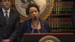 VIDEO: U.S. Attorney General Loretta Lynch discusses criminal probe of the world soccer organization.