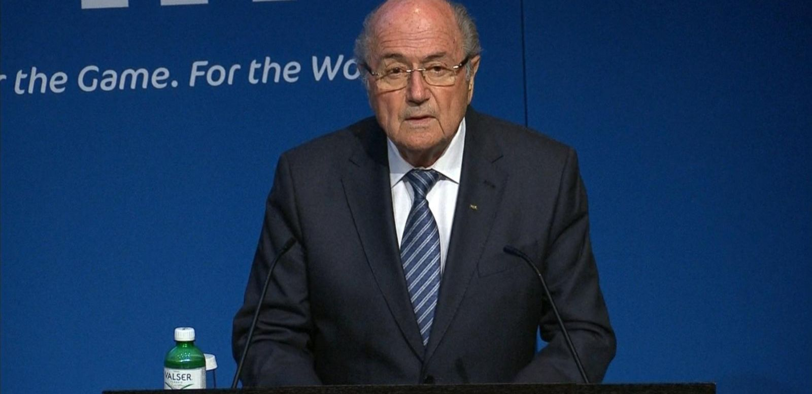 VIDEO: FIFA President Sepp Blatter Resigns Unexpectedly
