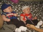 WATCH:  Infant Twins Might Be the Chicago Cubs' Littlest Fans
