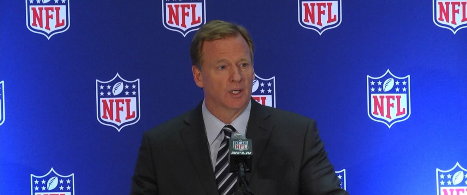 "Commissioner Roger Goodell and several owners said Tuesday at the league's fall meetings that altering the language from ""should stand"" to ""must stand"" was not discussed."