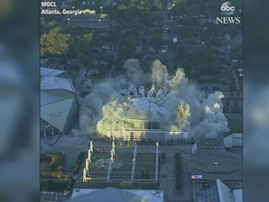 WATCH:  Georgia Dome imploded in downtown Atlanta