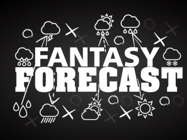 PHOTO: ABC News Meteorologist Mel explains how this weeks weather forecast could impact your fantasy football league.