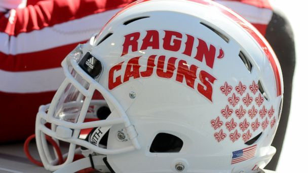 PHOTO: UL Lafayette Ragin' Cajuns football helmet, Nov. 19, 2016, file photo.