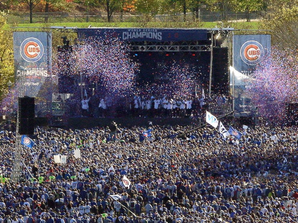 Chicago Cubs Celebrate World Series Championship