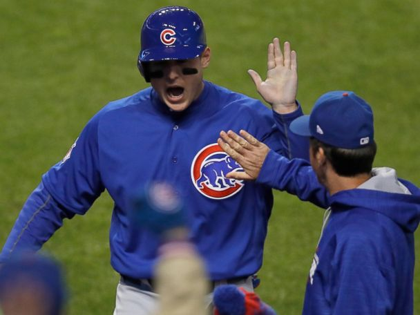 Cubs Beat Indians 5-1 to Tie World Series at 1-1