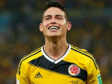 Meet Colombia's James Rodriguez, the World Cup's Latest Megastar