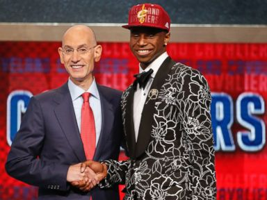 Andrew Wiggins' NBA Draft Outfit Draws 'Three Amigos' Comparisons