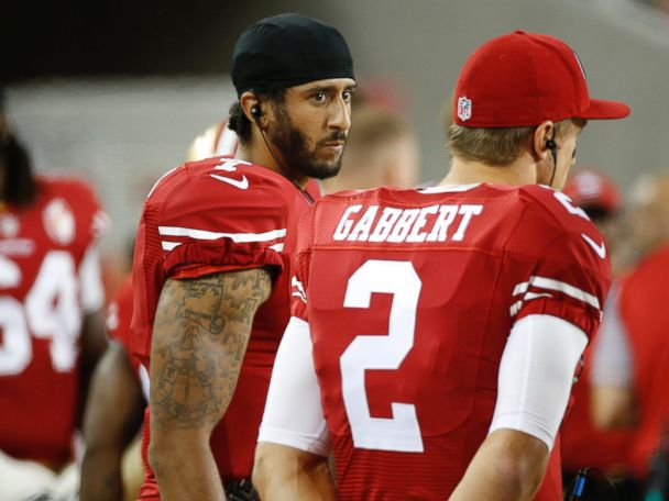 49ers QB Protests National Anthem Over Treatment of Minorities