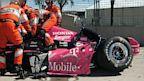 PHOTO: IndyCar Grand Prix Crash