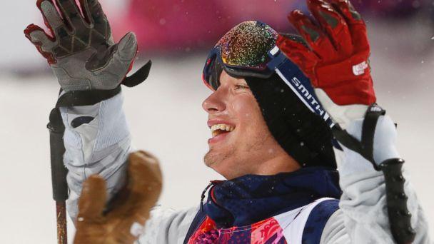 AP david wise tk 140218 16x9 608 US Skier Gets Gold Medal Despite Fall