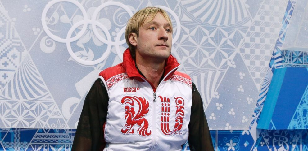 PHOTO: Evgeni Plushenko of Russia sits after competing in the mens team free skate figure skating competition at the Iceberg Skating Palace during the 2014 Sochi Winter Olympics, Feb. 9, 2014, in Sochi, Russia.