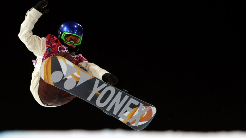PHOTO: Spains Queralt Castellet competes during the womens snowboard halfpipe final at the Rosa Khutor Extreme Park, at the 2014 Winter Olympics, Feb. 12, 2014, in Krasnaya Polyana, Russia.