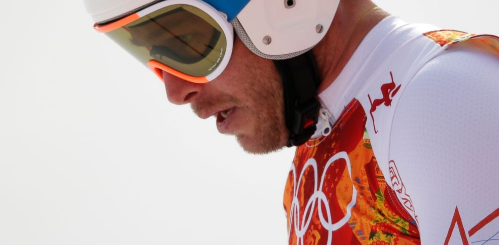 PHOTO: United States Bode Miller after finishing the mens downhill at the Sochi 2014 Winter Olympics, Sunday, Feb. 9, 2014, in Krasnaya Polyana, Russia.