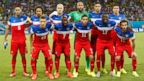 PHOTO: The USA team poses for a photo before the group G World Cup soccer match between Ghana and the United States at the Arena das Dunas in Natal, Brazil, Monday, June 16, 2014.