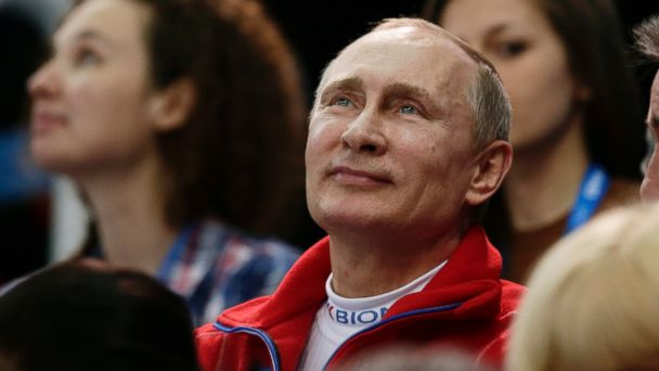 AP vladimir putin sochi jt 140209 16x9 608 Vladimir Putin Watches Russia Win First Gold