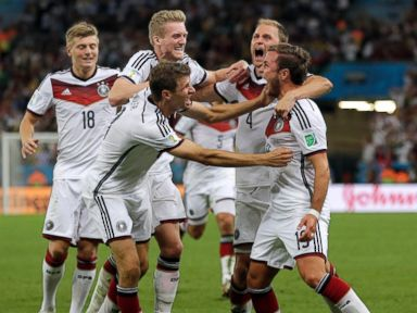 Goetze's Goal Gives Germany World Cup Win Over Argentina