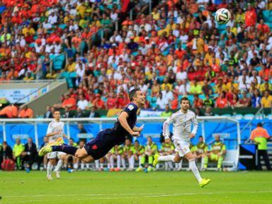 Flying Dutchman! See Robin van Persie's Stunning Goal