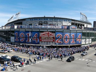 Cubs Fans Celebrate Wrigley Field's 100th Birthday