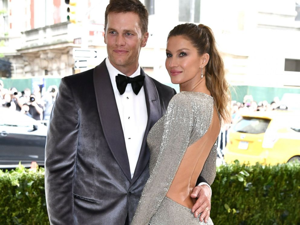 PHOTO: Tom Brady and Gisele Bundchen at the Costume Institute Benefit, the Metropolitan Museum of Art, May 1,2017 in New York.