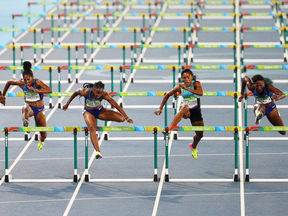 US Women Sweep 100 Meter Hurdles in Rio for First Time Ever