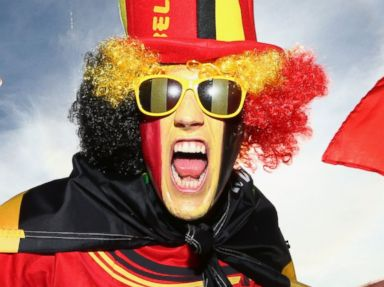 Photos: See the Craziest World Cup Fans
