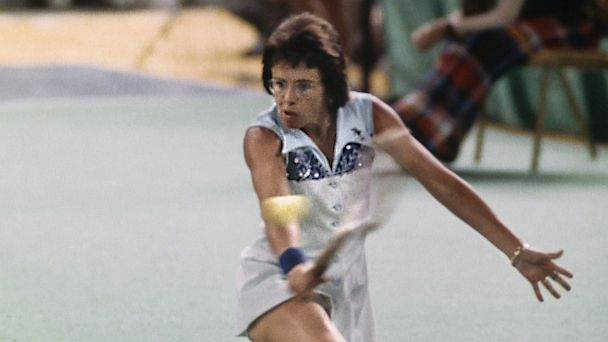 GTY billie jean king 2 dm 130827 16x9 608 Billie Jean Kings Battle of the Sexes Win Reportedly Rigged