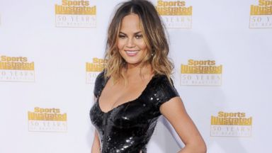 PHOTO: Chrissy Teigen at the 50th Anniversary Celebration Of The Sports Illustrated Swimsuit Issue