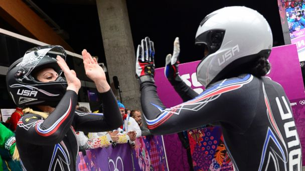 GTY elana meyers kab 140219 16x9 608 Former US Olympic Sprinter Wins Silver in Bobsled