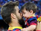 PHOTO: These World Cup Dads are Their Tots Best Coaches