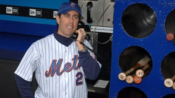 GTY jerry seinfeld jt 140705 16x9 608 Break Out The Puffy Shirt: New York Baseball Team Hosts Seinfeld Night