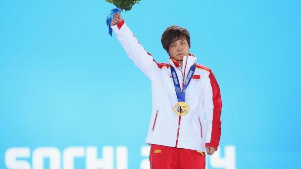 GTY jianrou li medal tk 140213 16x9 608 How Last Place Speed Skater Won Gold Medal