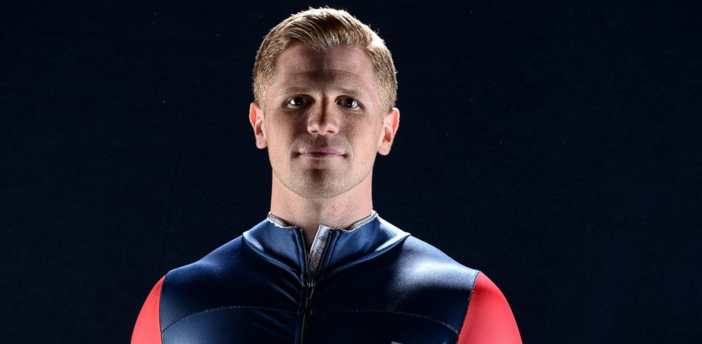 PHOTO: Skeleton racer John Daly poses for a portrait, April 25, 2013, in West Hollywood, Calif.