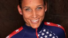 PHOTO: Bobsledder Lolo Jones poses for a portrait during the USOC Media Summit ahead of the Sochi 2014 Winter Olympics, Sept. 29, 2013 in Park City, Utah.