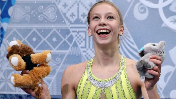 GTY polina edmunds jef 140219 16x9 608 US Figure Skater Polina Edmunds Good Luck Toys