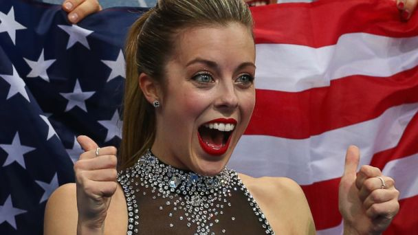 GTY sochi olympics ashley wagner reacts 3 16x9 608 Winter Olympics 2014: US Figure Skater Ashley Wagner Goes From Happy to Not Impressed in Seconds