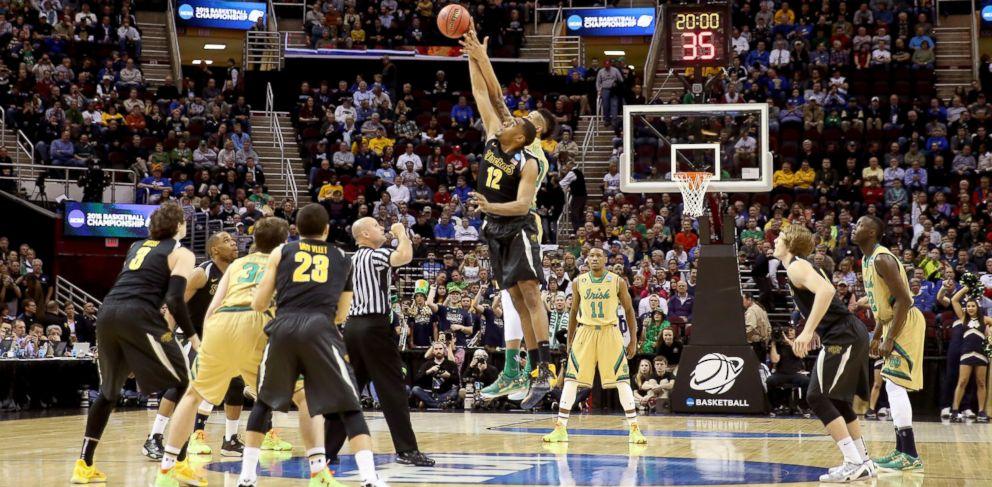 PHOTO: 2015 NCAA Mens Basketball Tournament - Wichita State vs. Notre Dame