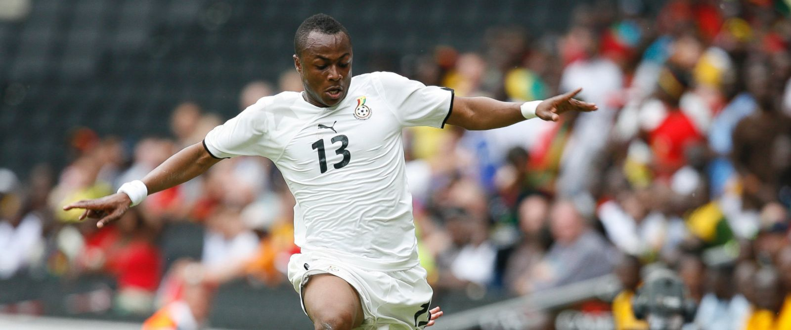 PHOTO: Ghanas national football team player Andre Ayew