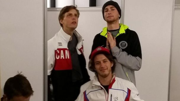 HT canadian us changing room jef 140213 16x9 608 These Olympians Ripped Through a Changing Room Wall