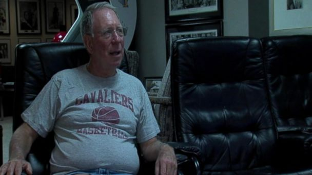 PHOTO: Larry Weiser, age 69, is the Cleveland Cavaliers' longest-running season ticket holder.