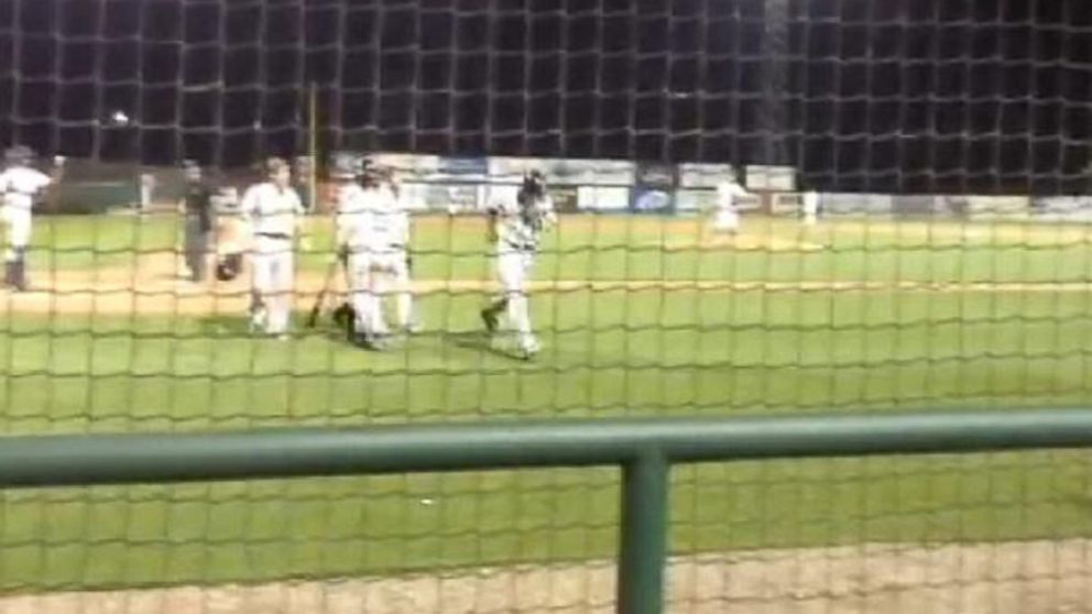VIDEO: The Clinton LumberKings ended up beating the Burlington Bees in extra innings.