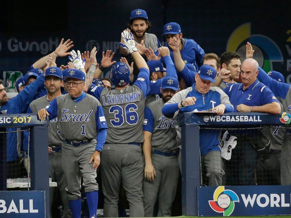 Israeli team pulls off upset victory at World Baseball Classic