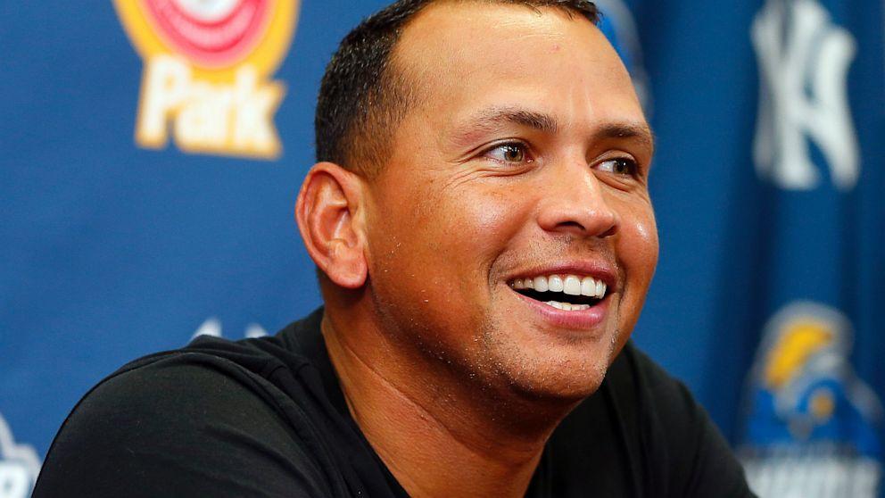PHOTO: New York Yankees third baseman Alex Rodriguez
