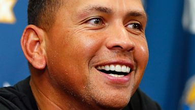 PHOTO: New York Yankees third baseman Alex Rodriguez
